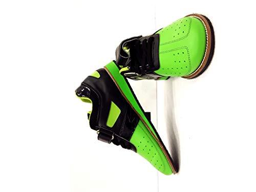 RXN Men's PU Green Weightlifting Shoes (7)