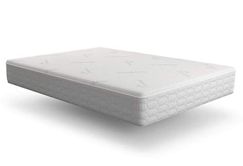 Snuggle-Pedic Original Ultra-Luxury Hybrid Mattress That Breathes - Patented Cooling Airflow Transfer System - Kool-Flow Bamboo Cover, USA Made, Memory Foam & Best Orthopedic Firm Support (King)