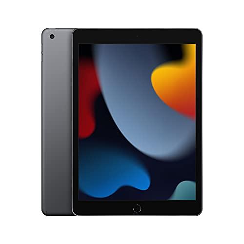 2021 Apple iPad (de 10,2pulgadas con Wi-Fi, 64GB) - Gris espacial (9.ª generación)
