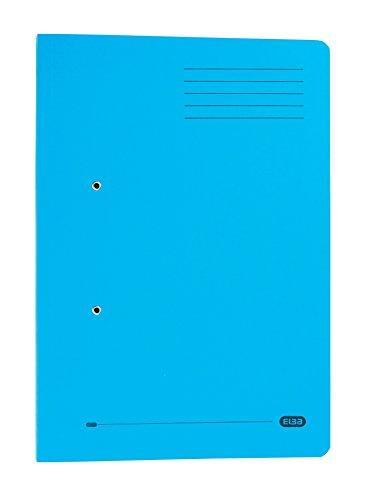 Elba 100090278Strongline Portadocumenti con molla, formato protocollo, confezione da 25, rosso Foglio protocollo Blue
