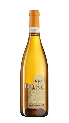 Batasiolo, MOSCATO D'ASTI DOCG BOSC D'LA REI 2019, Vino Bianco Vivace e Amabile dal Vigneto Serralunga Boscareto