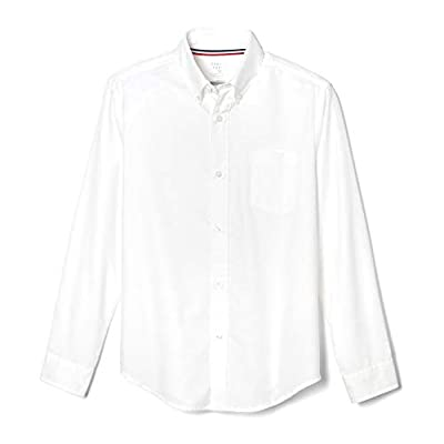 Cotton Blend Oxford 50 Wash Tested Shrink & Fade Resistant Wrinkle No More Fabric For Easy Care Tag Free Back Pleat Expandable Button Down Collar Front Patch Chest Pocket