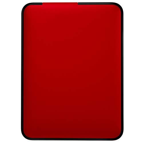 QIAO Disco Rigido Esterno Portatile, USB 3.0, 1TB Hard Disk Esterno Portatile per PC, Laptop E Mac,Rosso,60GB