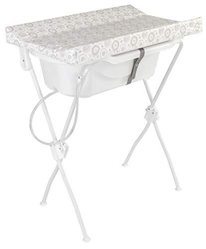 Banheira com Trocador Floripa Essencial, Tutti Baby, Branco