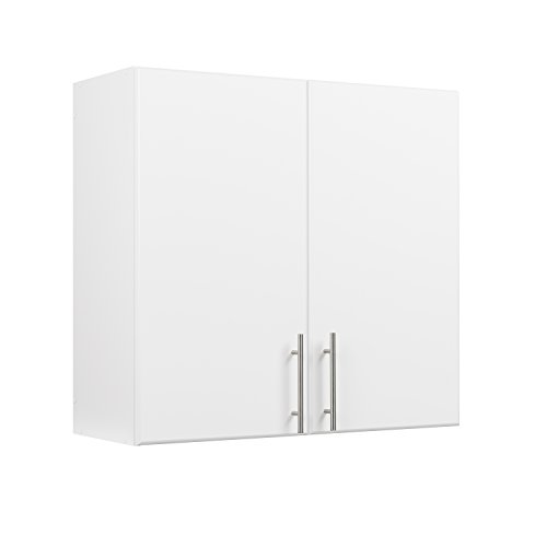 Prepac Elite 32' Tall Wall Cabinet, White