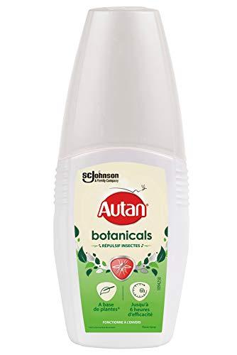 Autan Botanicals Spray répulsif anti-moustiques pour le corps, 100ml