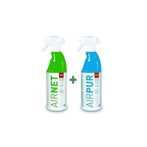 REPORSHOP - Kit Airpur Airnet Limpiador Higienizante Aire Ac