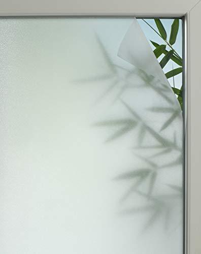Gardinia Pellicola per finestre ad adesione statica, Privacy 50, Traslucido, Tagliabile su Misura, 100% PVC, 45 x 150 cm, Semi-Trasparente