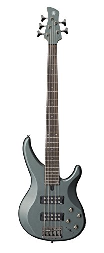 Yamaha 5 String Bass Guitar, Right Handed, Mist Green, 5-String (TRBX305 MGR)
