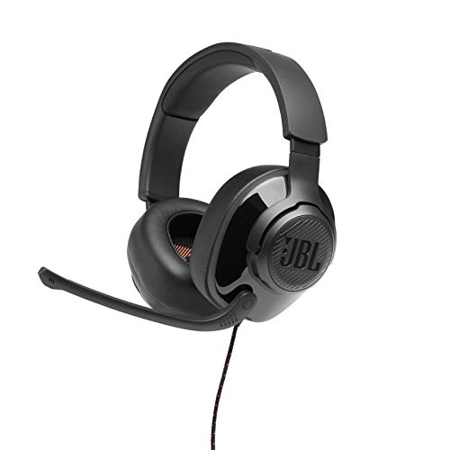 JBL Quantum 200 - Wired Over-Ear Gaming Headphones...