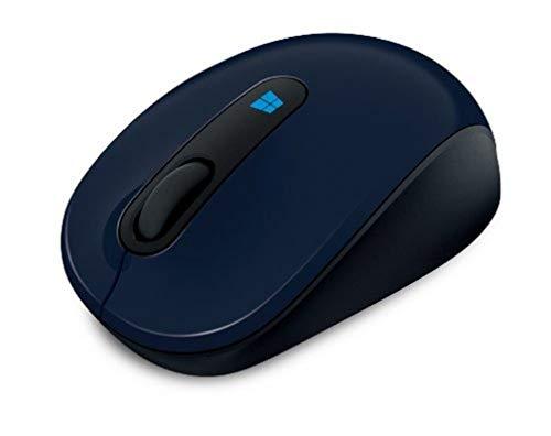 Microsoft 43U-00014 Sculpt Mobile Mouse, Wool Blue