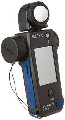 Sekonic L-858D Speedmaster Digitales Lichtmessgerät, Schwarz/Blau