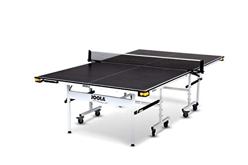 JOOLA Rally TL - Professional MDF Indoor Table Tennis Table w/ Quick Clamp Ping Pong Net &...