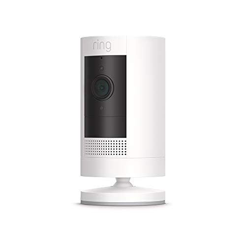 Ring Stick Up Cam Battery HD security camera with custom privacy...