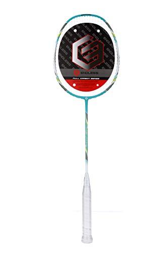 Endless Super LITE-200 Badminton Raquets, G2 (White/Light Green)