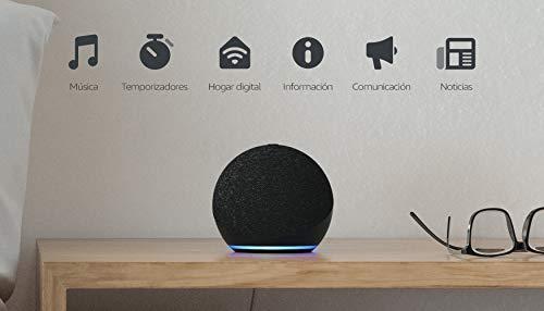 Nuevo Echo Dot (4.ª generación) | Altavoz inteligente con Alexa...