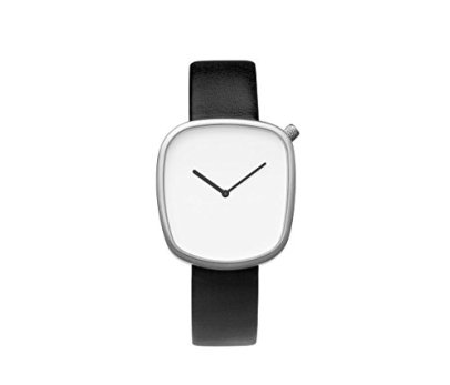 Bulbul Pebble Swiss Made Ronda 762 White Dial Men's Watch 02