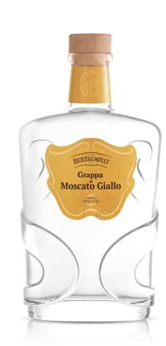 Grappa di Moscato Giallo Trentino -Bertagnoli- 42% 70 cl Astucciata