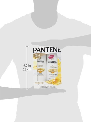 Pantene Pro-V Daily Moisture Renewal Shampoo and Conditioner Bundle (Packaging May Vary) 7