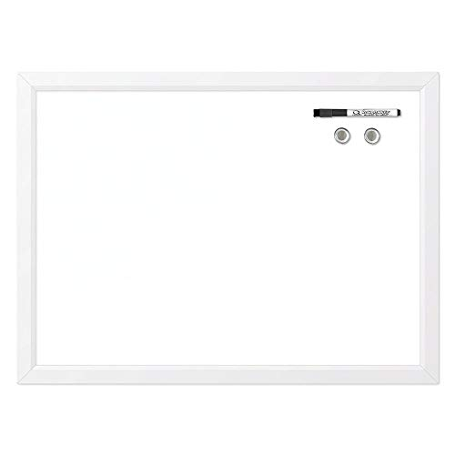 Quartet Magnetic Whiteboard, 17' x 23' Small White Board for Wall, Dry...
