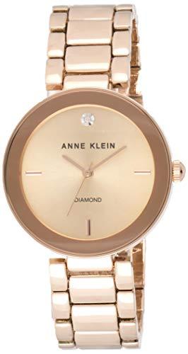 Anne Klein Women's AK/1362RGRG Rose Gold-Tone...