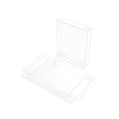 ClearBags Crystal Clear Box for Holiday Greeting Cards | High Density PET Soft Fold Design Protects Cards, Letters, Photos | Acid Free & Archival Safe | 25 Boxes (A2, 5.5-bar | For 12 card sets)