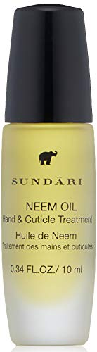 SUNDARI Neem and Cuticle Hand Treatment Oil ~ For Soft/Silky Hands ~ Nourish after washing ~ 100% All Natural ~ To-Go Rollerball ~ Absorbs quickly ~ Soothing Scent ~ Great results with first use!