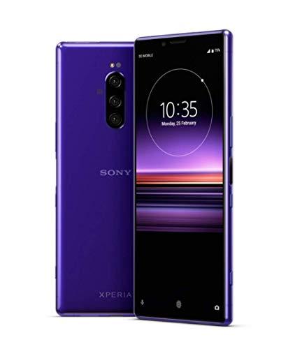 Sony XPERIA 1 Dual SIM (J9110) 128GB/6GB (Purple/パープル) SIMフリー【並行輸入品】