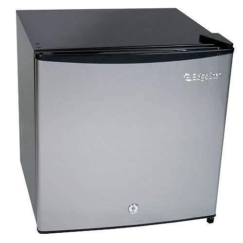 EdgeStar 1.1 Cu. Ft. Convertible Refrigerator or Freezer w/Lock -...