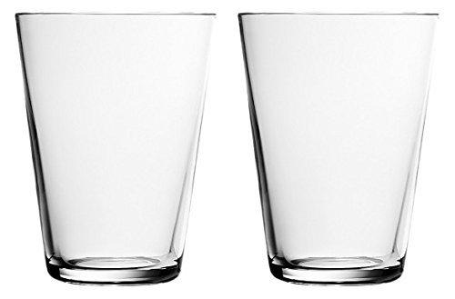 Iittala 004767SET Kartio - Set da 2 Bicchieri in Vetro, 40 cl