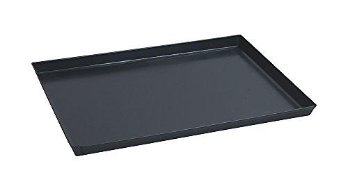 Paderno 41745-40 Teglia Rettangolare in ferro blu  Stampo da forno antiaderente, bordi alti,...