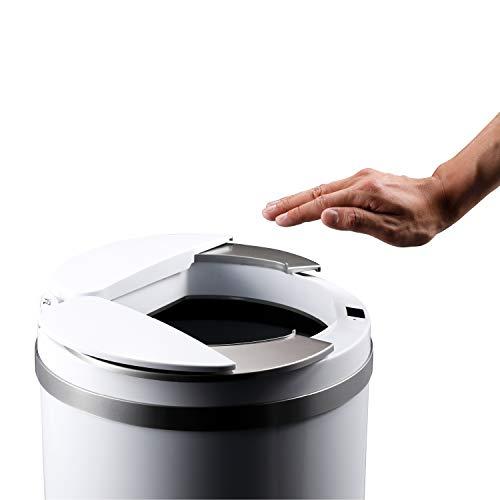 【ひらけ、ゴミ箱】ZitA ジータ ゴミ箱 おしゃれ 45リットル ダストボックス 自動 自動ゴミ箱 センサー (ホ...