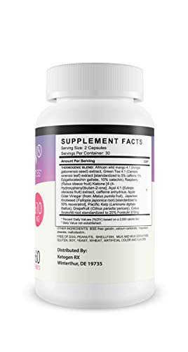 Ketogen RX - Advanced Weight Loss - Burn Fat Not Carbs - Keto Diet Supplement for Natural Weight Loss - 30 Day Supply 3