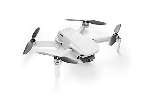 DJI Mavic Mini Drone Leggero e Portatile, Batteria 30 Minuti, Distanza Trasmissione 2 km, Gimbal 3 Assi, 12 MP, Video HD...