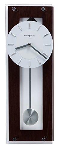 Howard Miller 625514 Reloj de pared, color Negro (Black Coffee), 19.00 x 6.25, pack of/paquete de 1