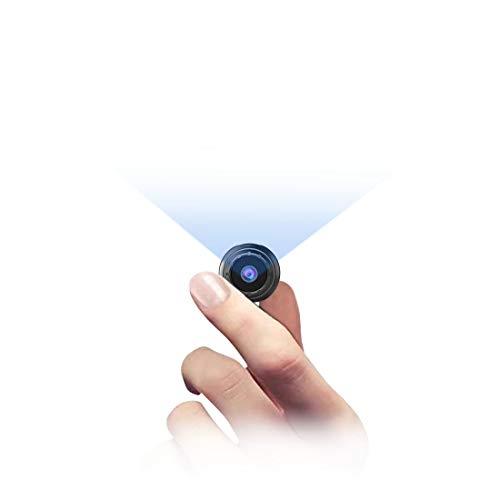MHDYT Mini Camara Espia Oculta, 1080P HD Micro Camara Vigilancia Grabadora de Video Portátil con IR Visión Nocturna Detector de Movimiento, Camara Seguridad Pequeña Inalambrica Interior/Exterior