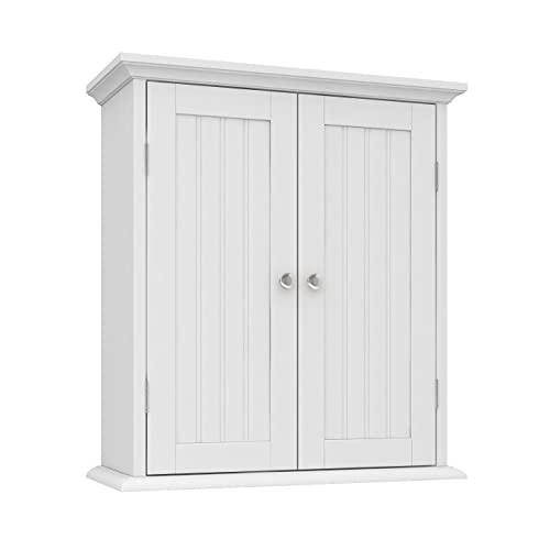 ChooChoo Bathroom Wall Cabinet, Over The Toilet Space Saver...