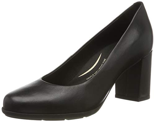 Geox D New ANNYA A, Zapatos de Tacón Mujer, Negro (Black C9997), 37.5 EU