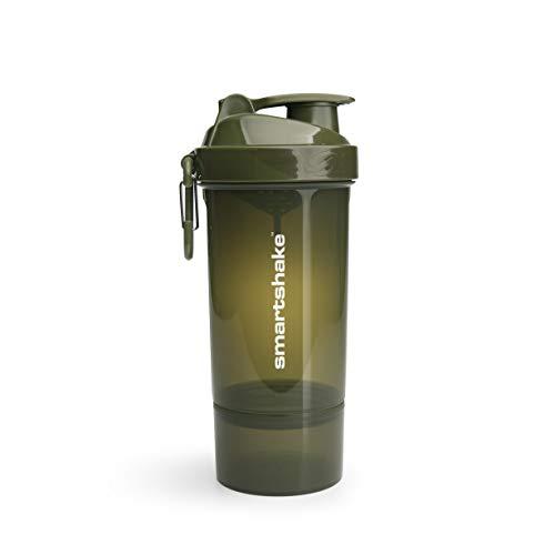 Smartshake ORIGINAL2GO Lite-Army Green One (800ml), plástico