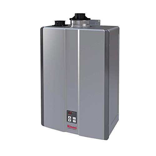 Rinnai RU130iN Sensei Super High Efficiency Tankless Water Heater, 7 GPM - Natural Gas: Indoor Installation
