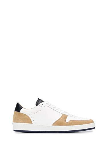 ZESPA Luxury Fashion Herren ZSP23M01701 Beige Leder Sneakers |...
