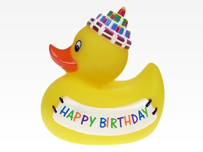 Badeente Geburtstag