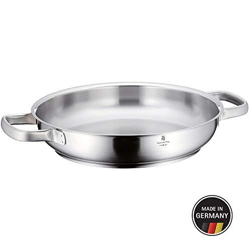 WMF 726286031 Gourmet Plus Teglia per Servire, Acciaio Inossidabile Satinato, Diametro 28 cm