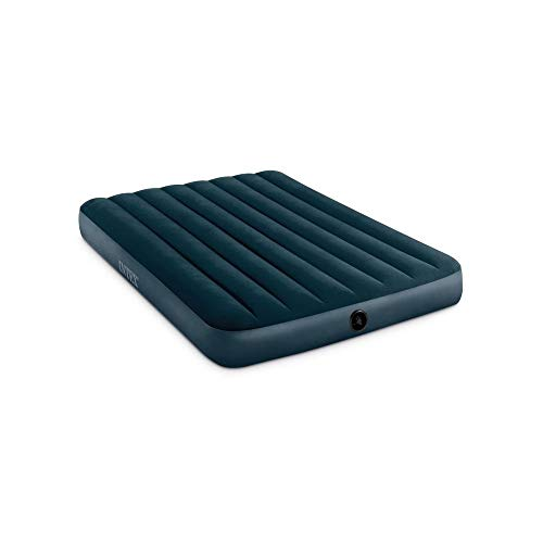 INTEX Matelas gonflable Sage Downy 2 Vert 2-pers. 137x191x25cm