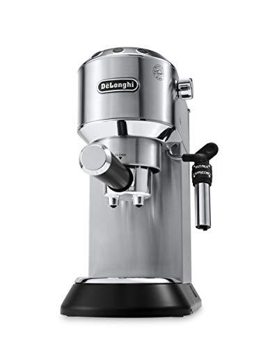 De'Longhi Dedica EC685.M Macchina da Caffè Espresso Manuale e Cappuccino, Caffè in Polvere o in...