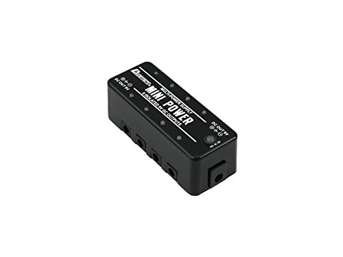 Power Supply Distributor BLOGG for Guitar Effect Pedals, black - Energy Supply for Foot Pedals - klangbeisser