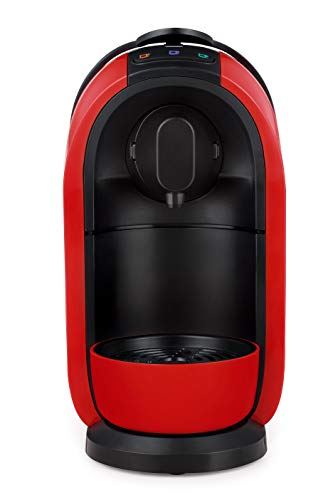 Mimo Coffee Maker, Three Hearts, S24 110V, Red