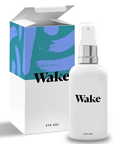 EYEWAKE gel idratante per occhiaie e borse sotto gli occhi, crema contorno occhi - Vitamina E - Collagene - crema viso antirughe 30ml - crema viso e occhi per uomo e donna