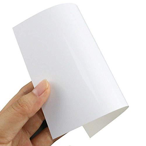 50 FOGLI carta fotografica lucida A4 150 grammi Qualit Premium inkjet compatibile con stampanti Epson Brother HP Canon formato A4 210X297mm