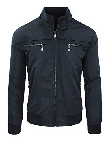 Veste pour homme, décontractée, printemps, été, veste de moto. - - XXXL